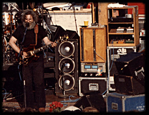 Unique Jerry Garcia Speaker Cabinet